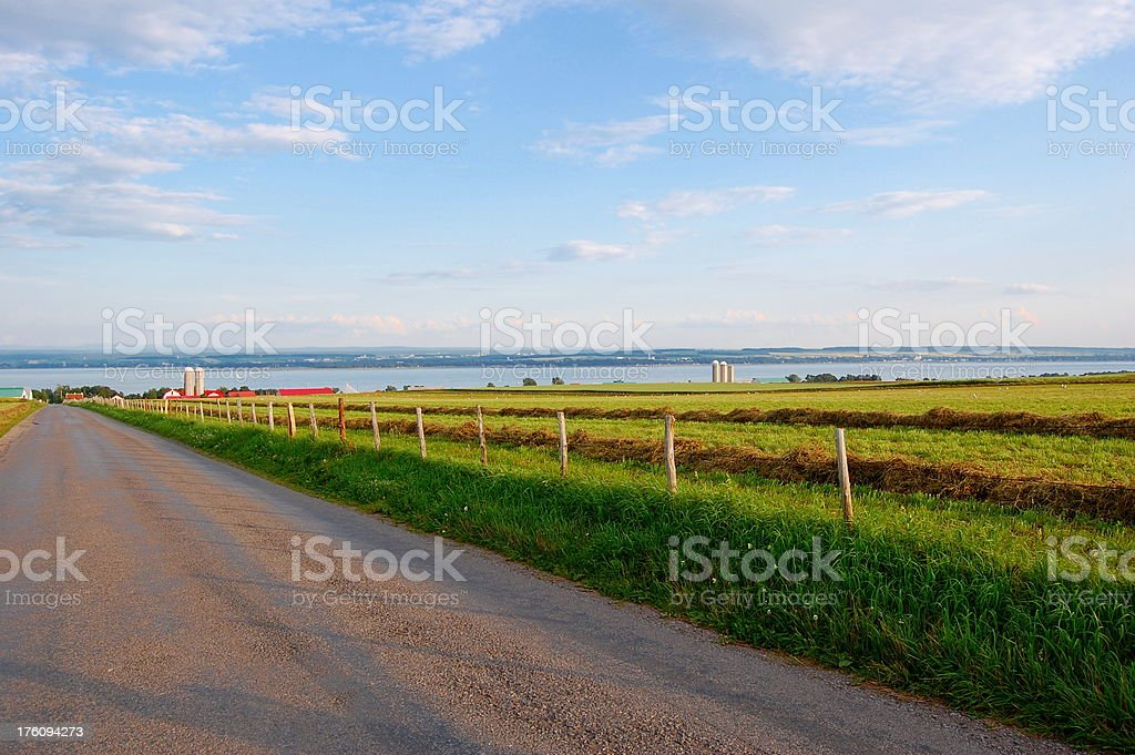 Île d'Orléans stock photo