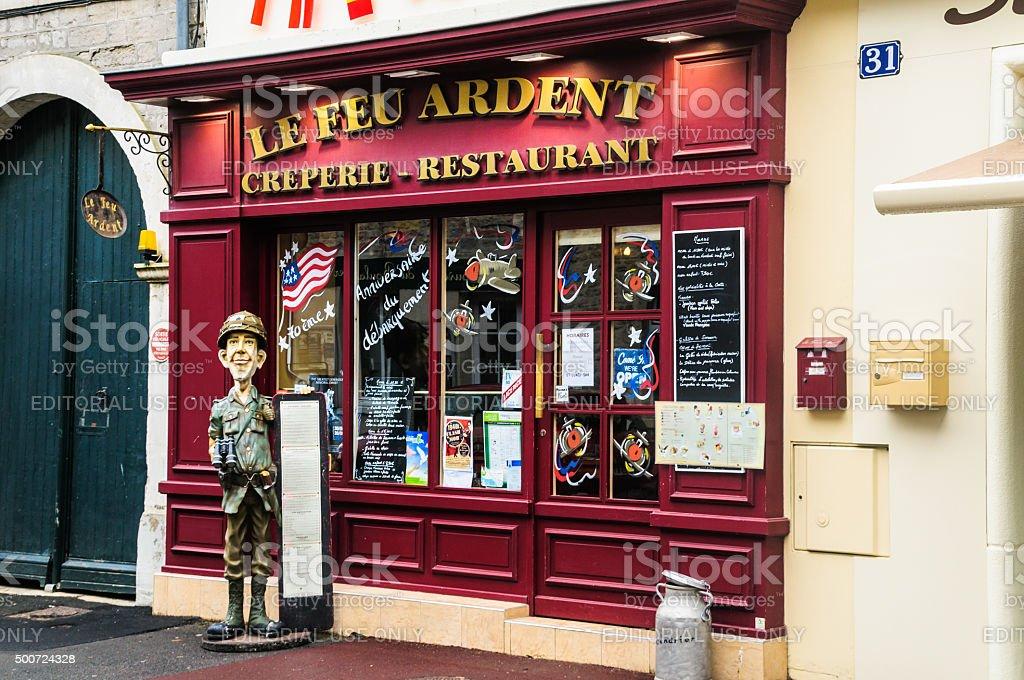 Le Feu Ardent stock photo