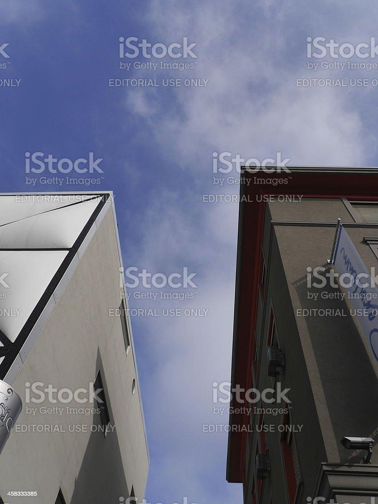 Le Flon (Lausanne) stock photo