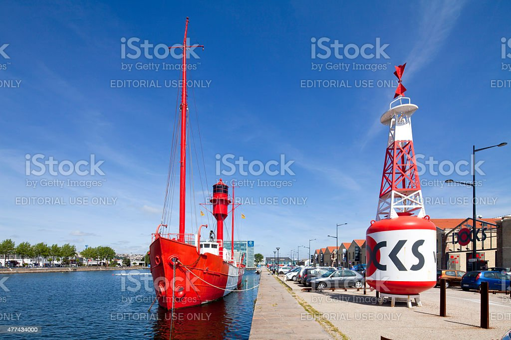 Le Havre, France stock photo