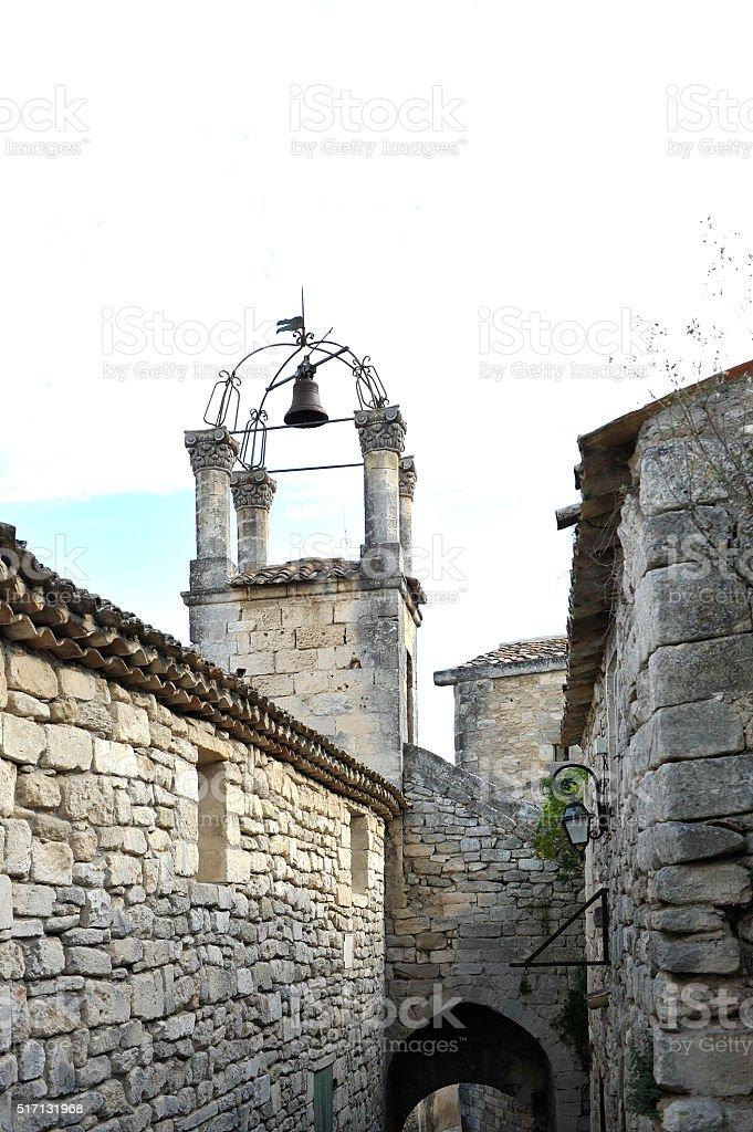Le Luberon : The village of Lacoste stock photo