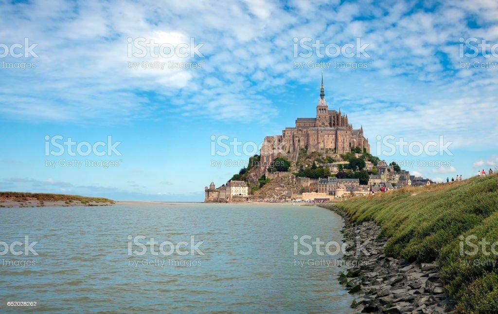 Le Mont Saint Michel stock photo