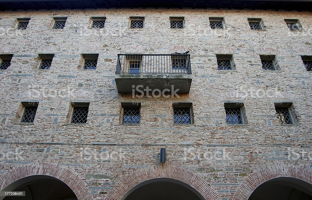 Le Murate restored old prison in Florence, Italy royalty-free stock photo