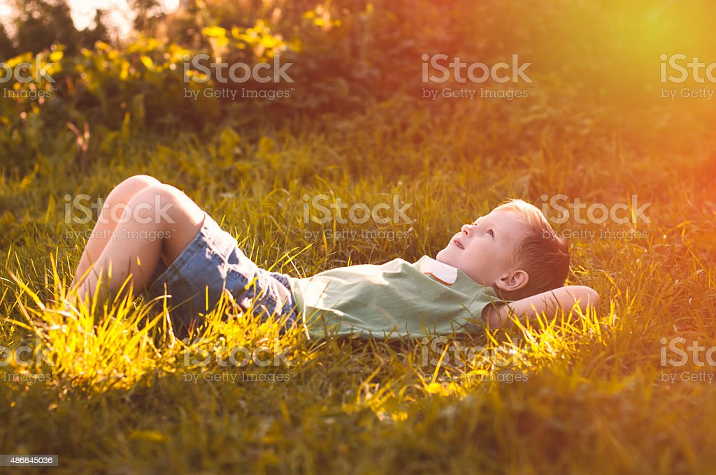 Le petit Prince stock photo