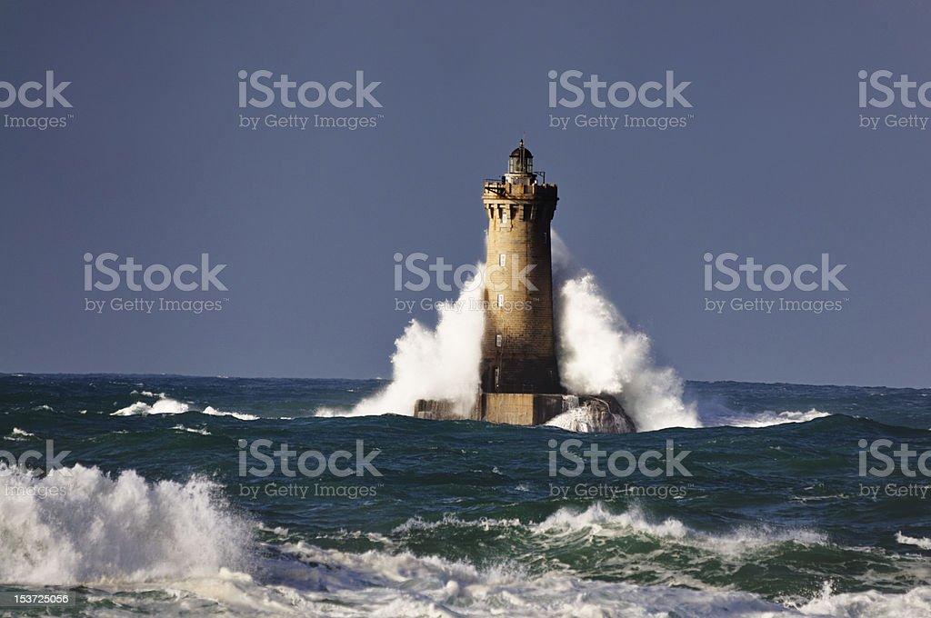 Le phare du four stock photo