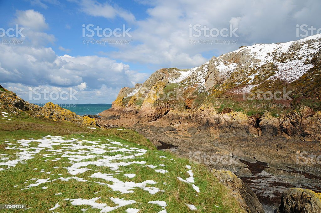 Le Pulec, Jersey. royalty-free stock photo