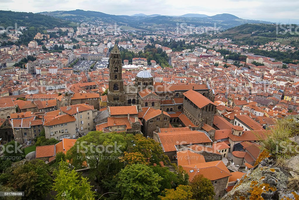 Le Puy, France stock photo