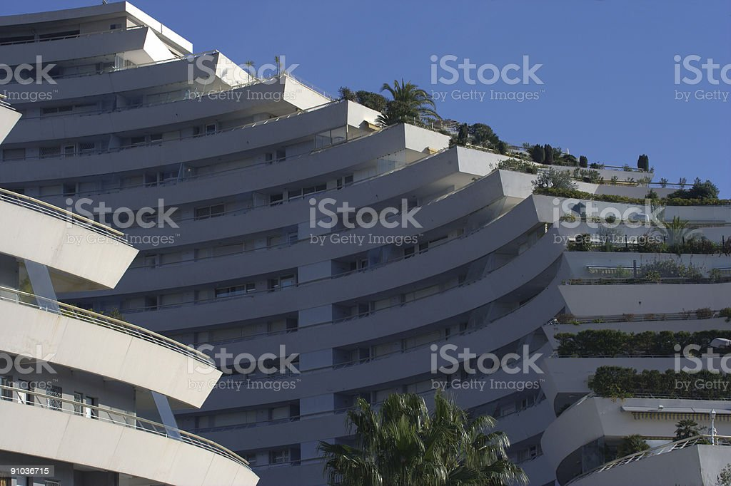 Le Pyramides, real estate at his best! royalty-free stock photo