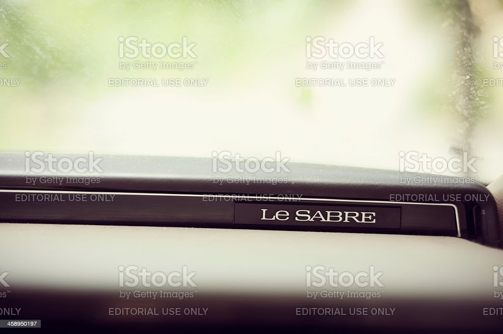 Le Sabre by Buick royalty-free stock photo