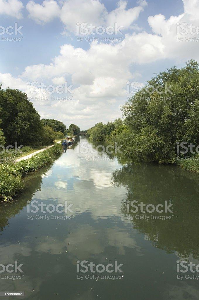 Lea River royalty-free stock photo