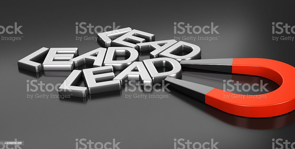 Lead Acquisition Strategy stock photo
