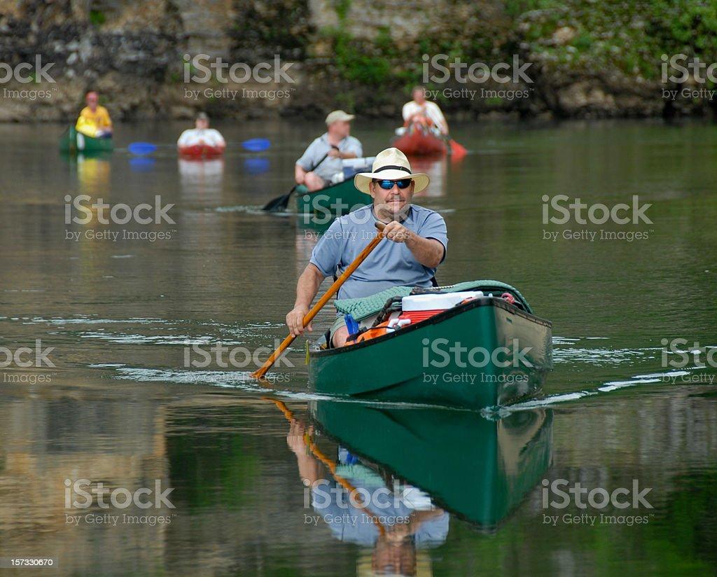 Lead Canoe royalty-free stock photo