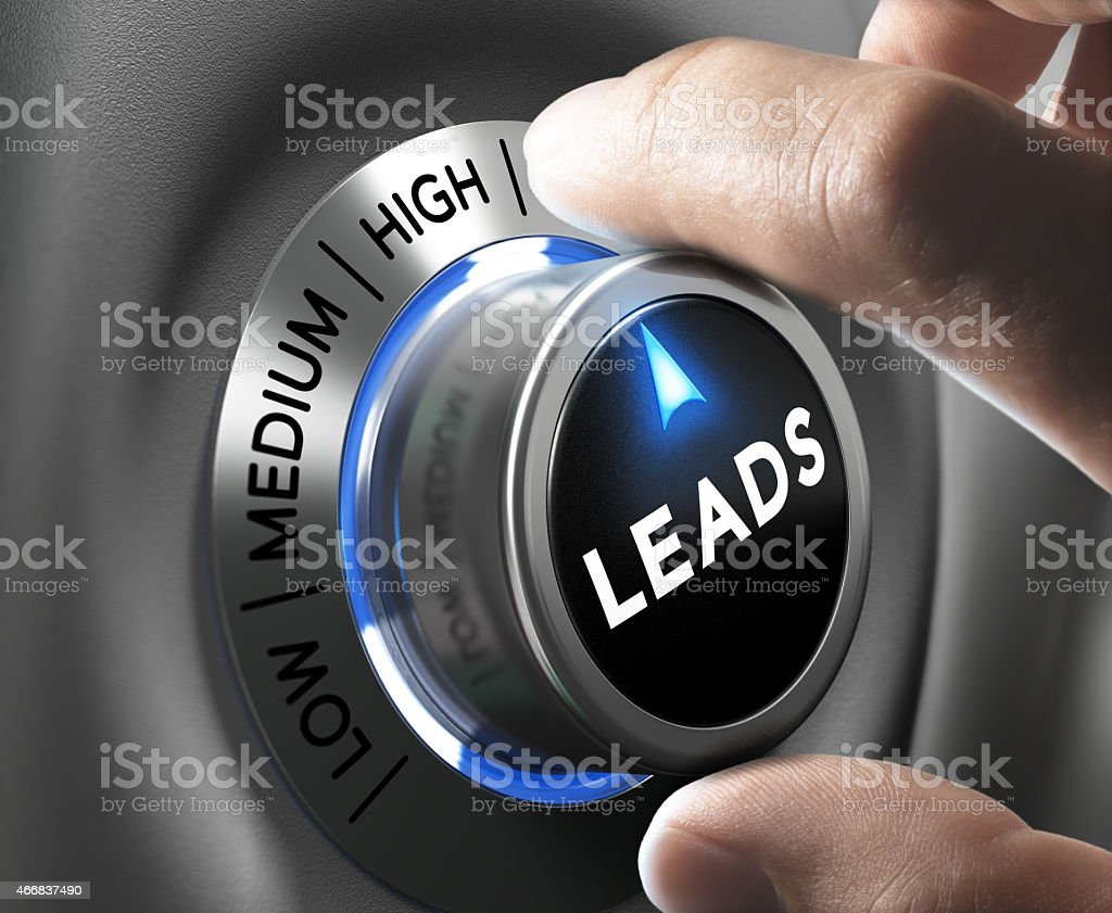 Lead Generation stock photo
