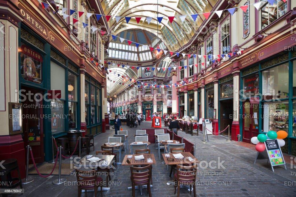 Leadenhall Market, London royalty-free stock photo