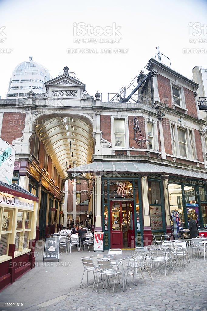 Leadenhall Market, London, UK royalty-free stock photo