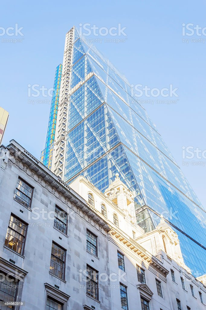 Leadenhall Tower stock photo