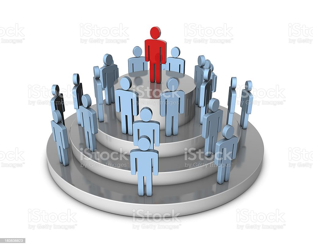 Leader Concept royalty-free stock photo