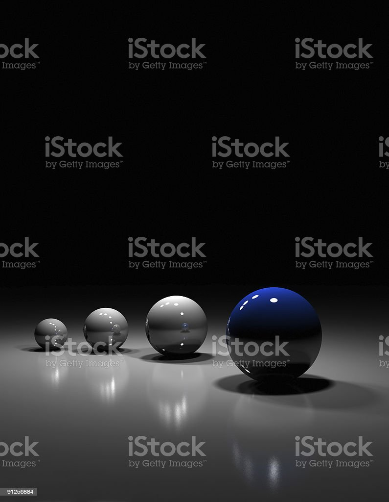 'Leader' concept royalty-free stock photo