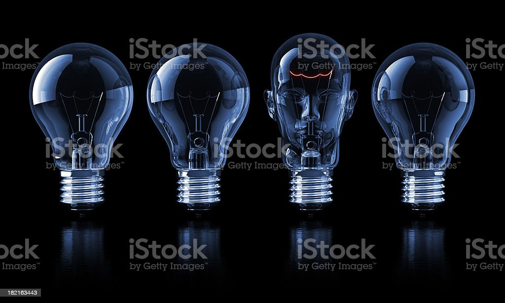 Leader of Ideas royalty-free stock photo