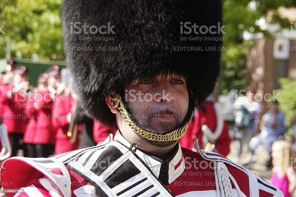 Leader of the music band royalty-free stock photo