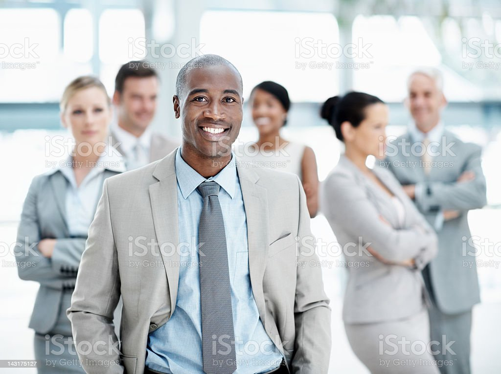 Leader of the pack royalty-free stock photo