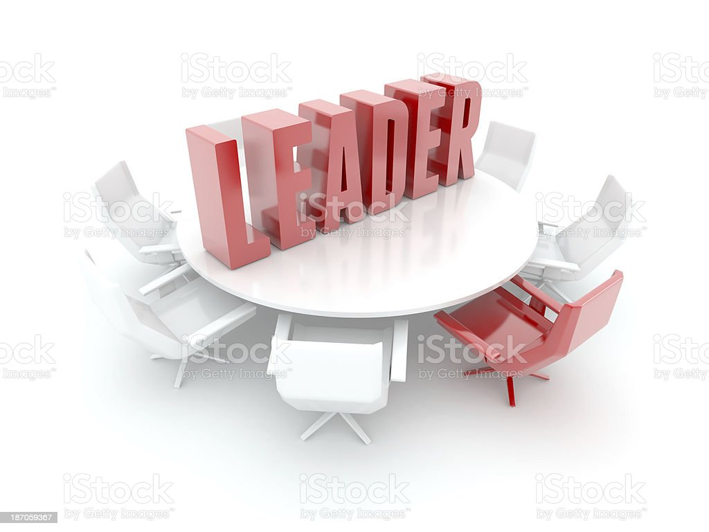 Leader royalty-free stock photo