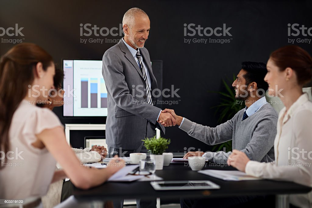 Leaders don't create followers - they create more leaders stock photo