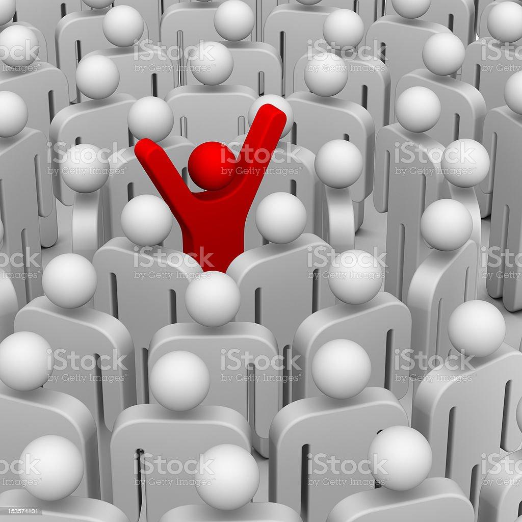 Leadership Concept royalty-free stock photo
