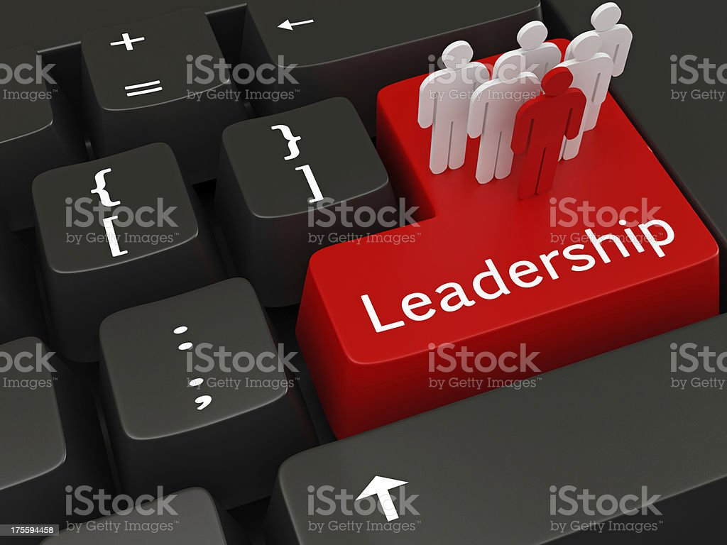 Leadership Concepts royalty-free stock photo