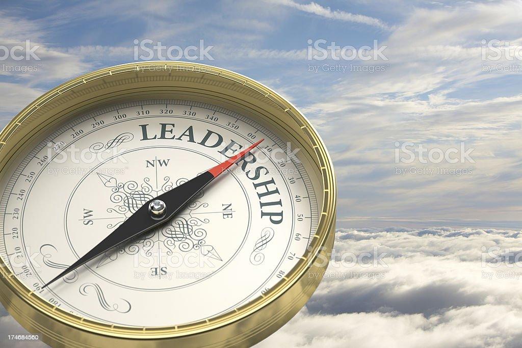 Leadership direction royalty-free stock photo