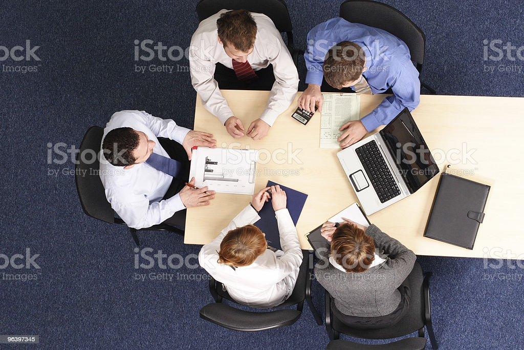 Leadership - mentoring stock photo