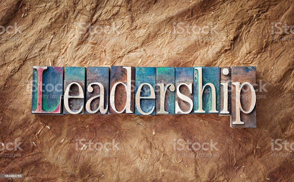 Leadership royalty-free stock photo