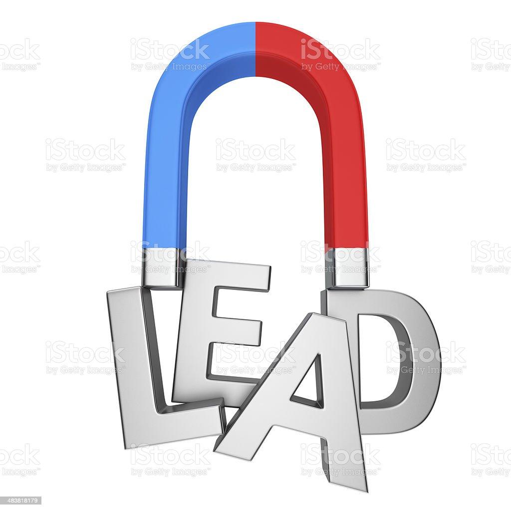 Leadership power stock photo