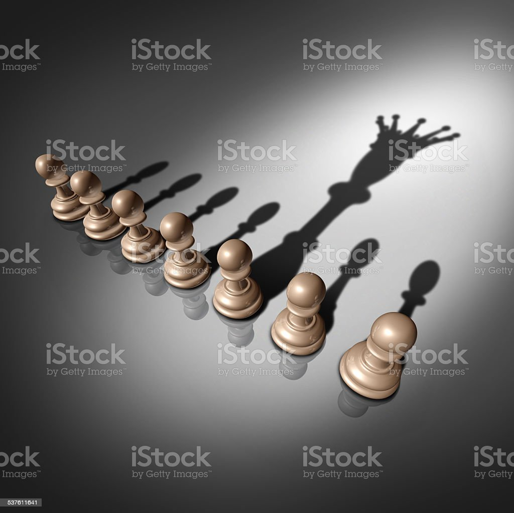Leadership Search stock photo