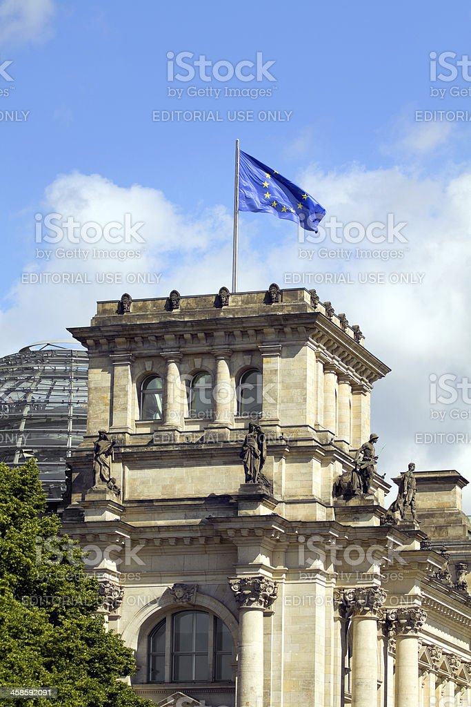 Leading Europe royalty-free stock photo