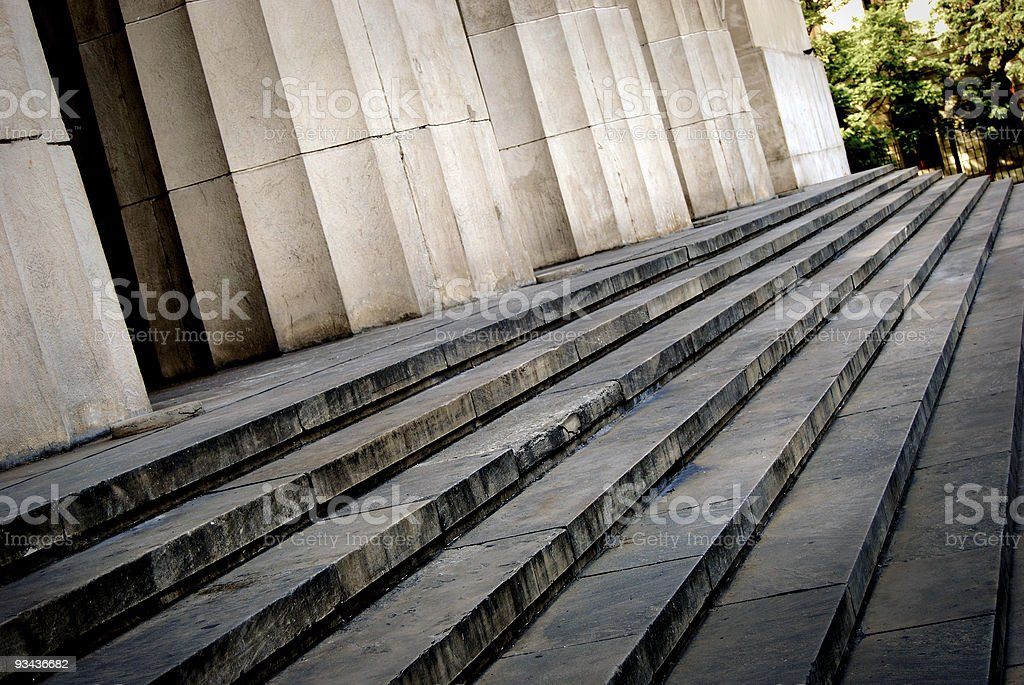 Leading lines royalty-free stock photo