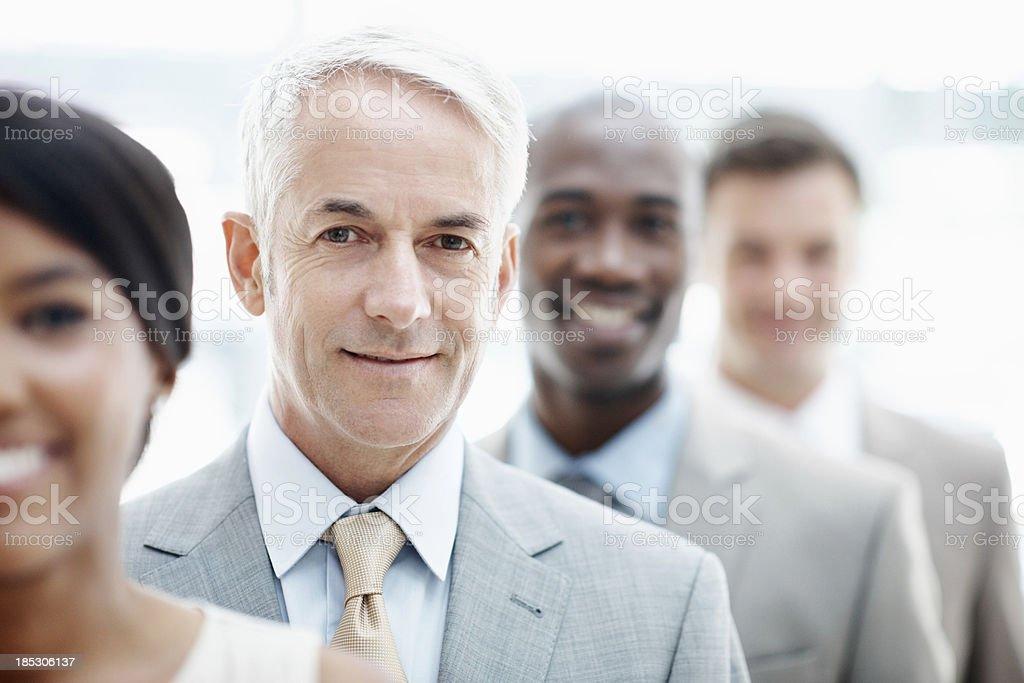 Leading representative royalty-free stock photo