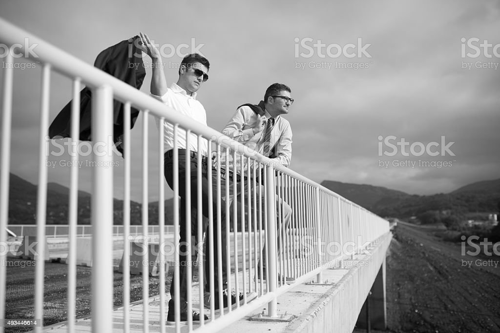 Leading The Construction Projects stock photo
