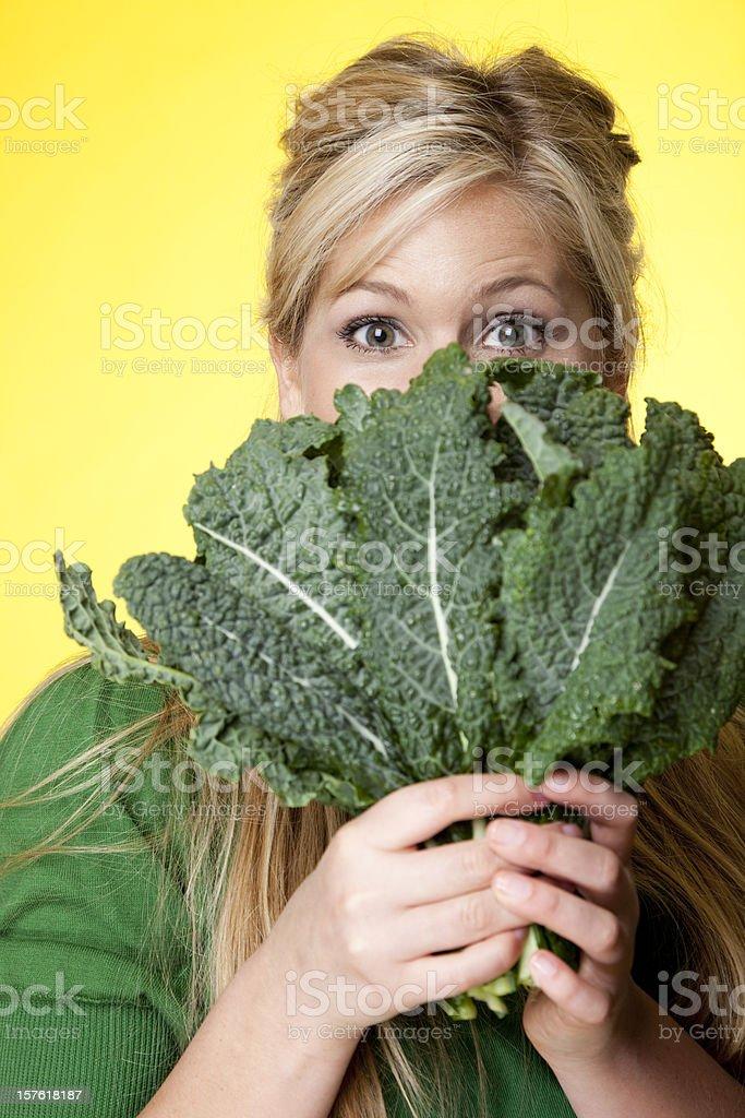leafy green veggies royalty-free stock photo