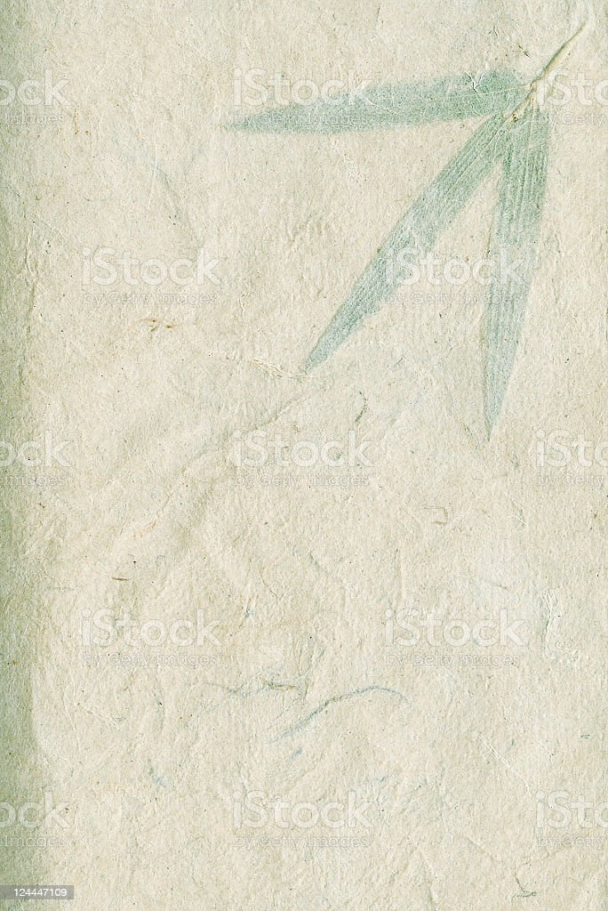 Leafy Paper royalty-free stock photo