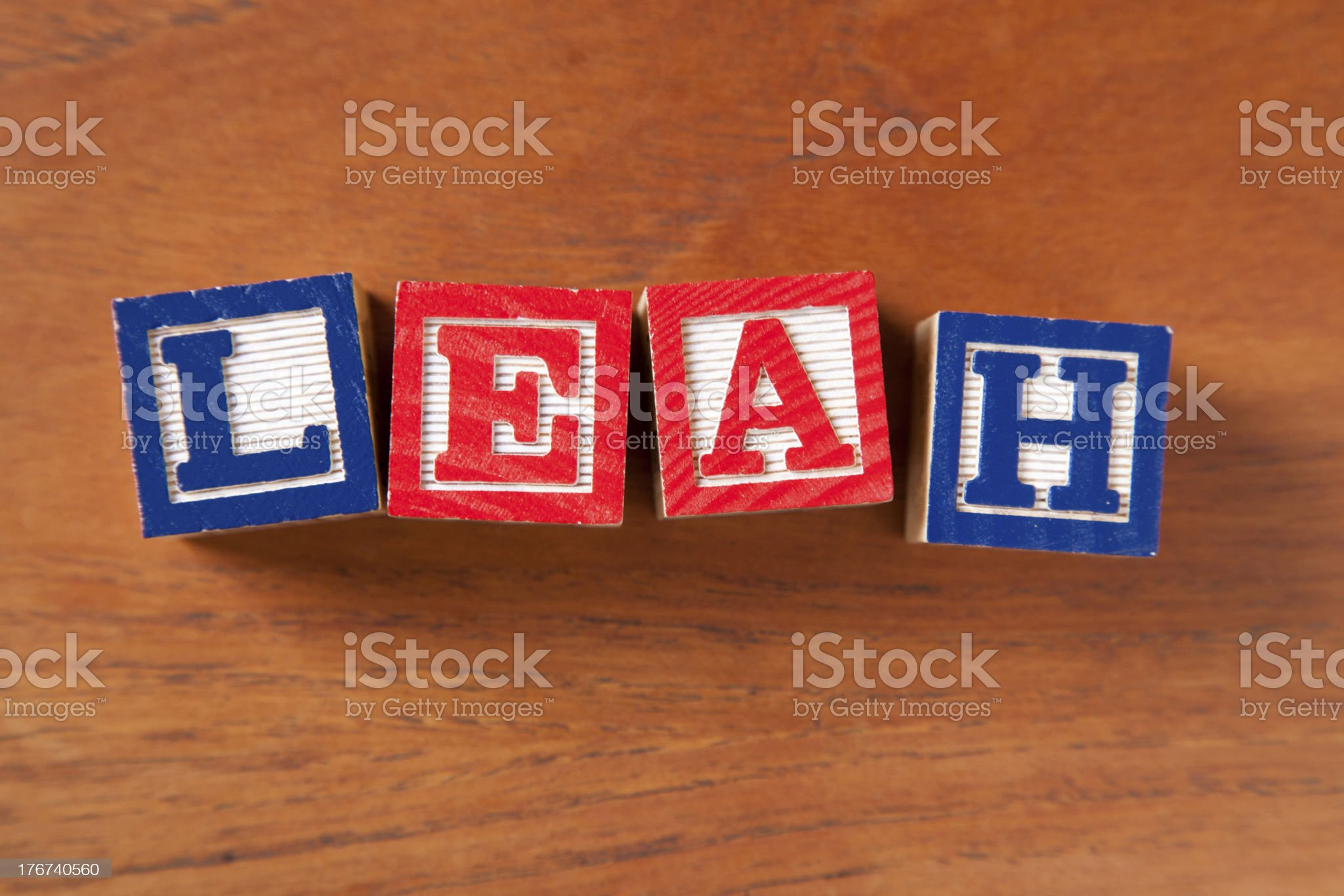 Leah royalty-free stock photo