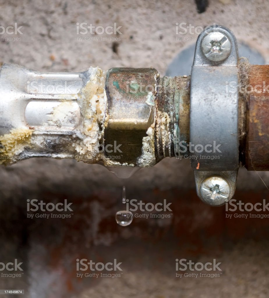 Leak. royalty-free stock photo