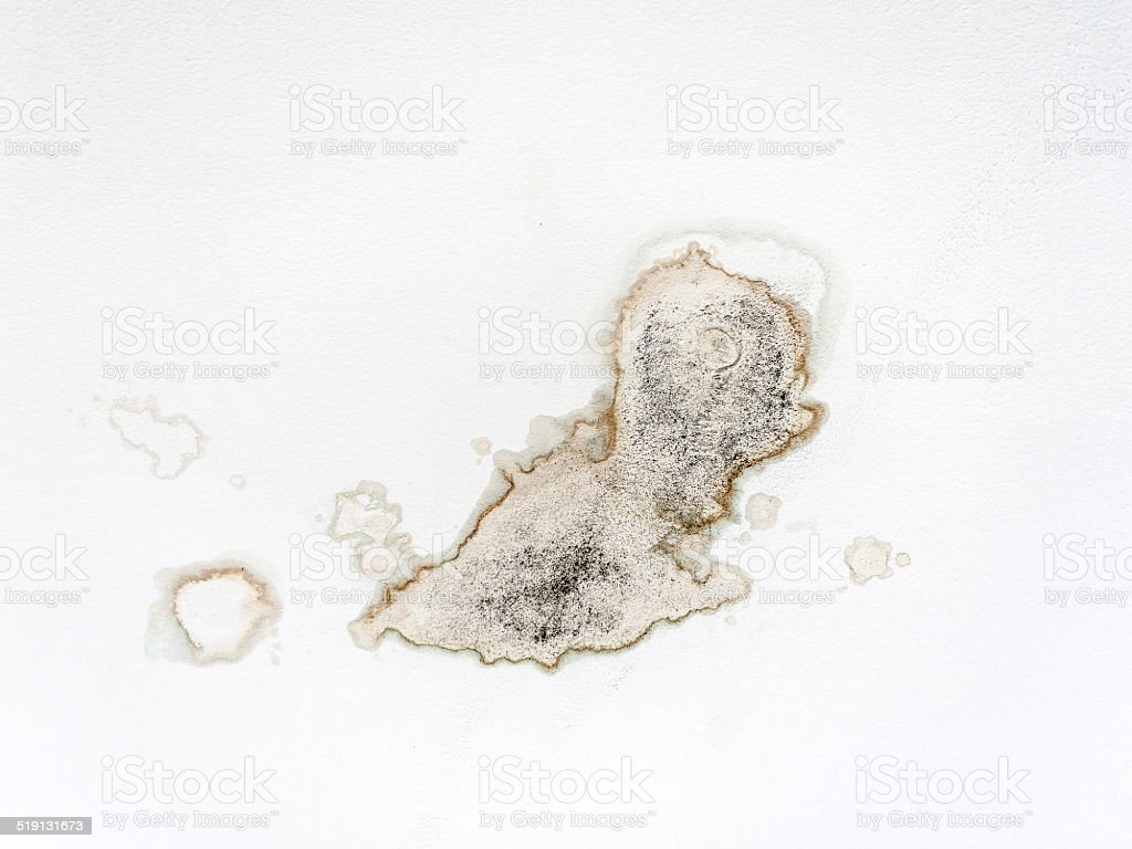 leakage stain stock photo