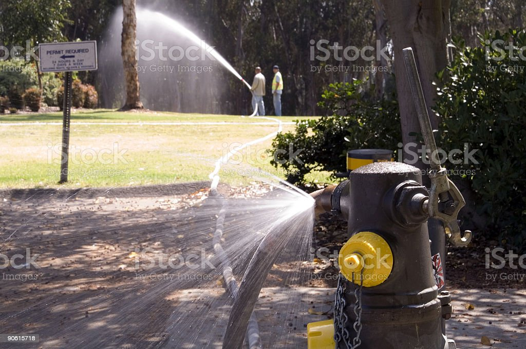 Leaking at the Source royalty-free stock photo