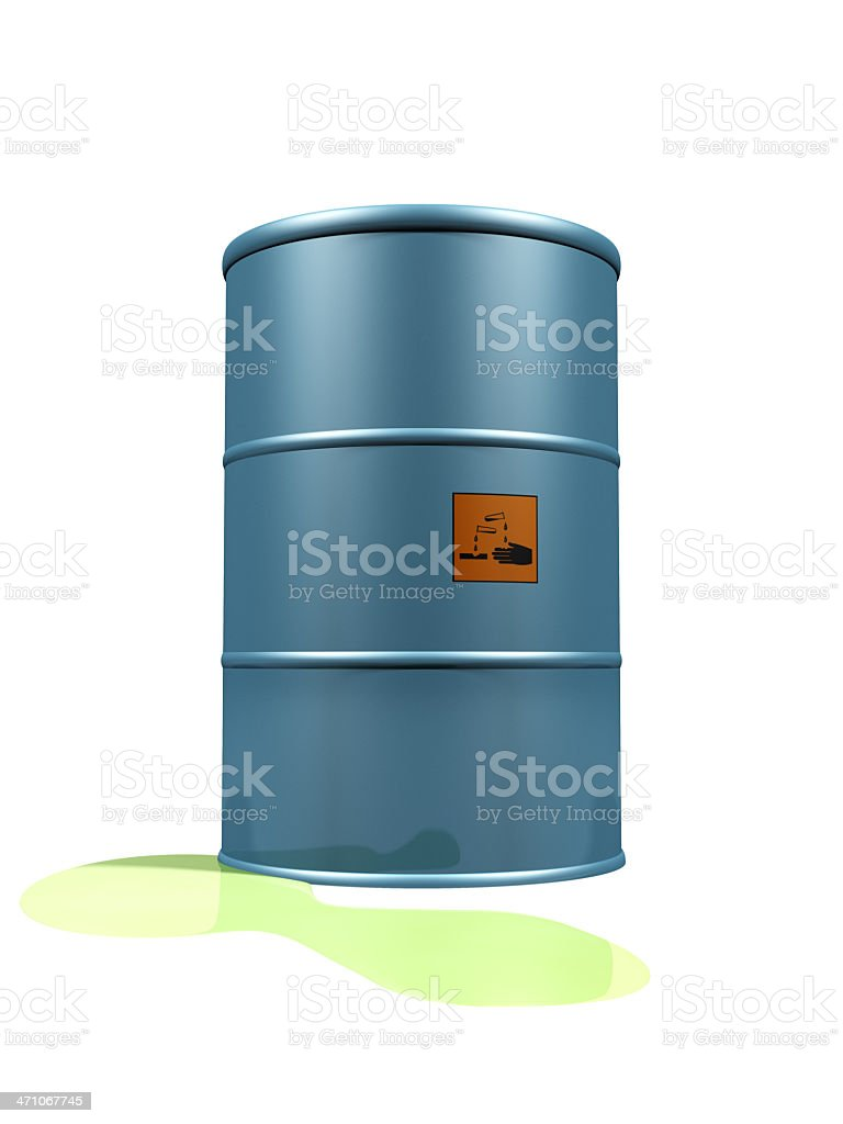 Leaking Corrosive royalty-free stock photo