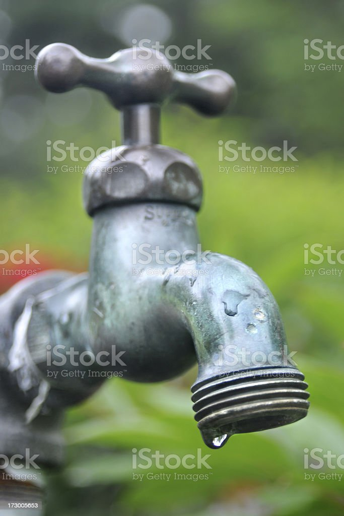 Leaking Faucet stock photo
