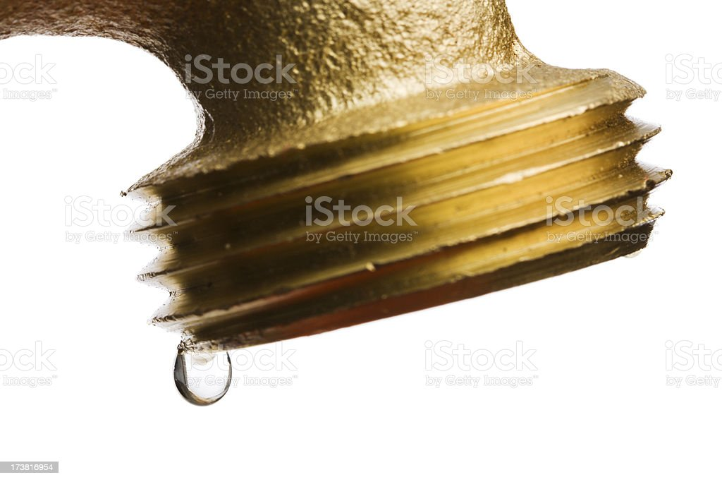 Leaking Faucet royalty-free stock photo