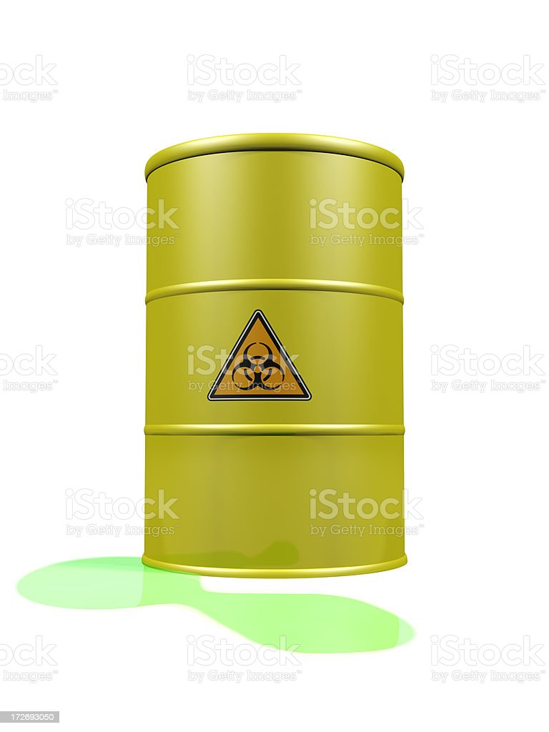 Leaking Toxic Waste royalty-free stock photo