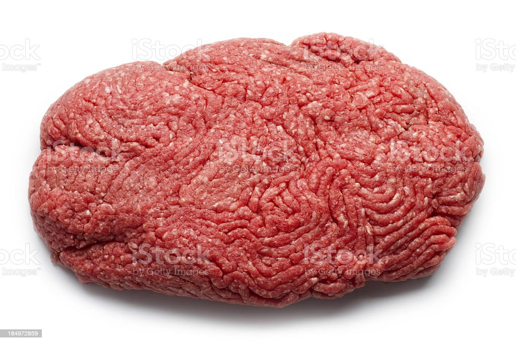Lean Ground Beef stock photo
