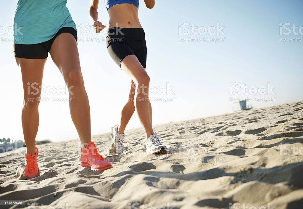 Lean legs royalty-free stock photo